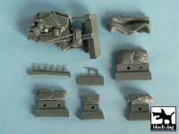 T48045 1/48 Marder III accessories set Blackdog
