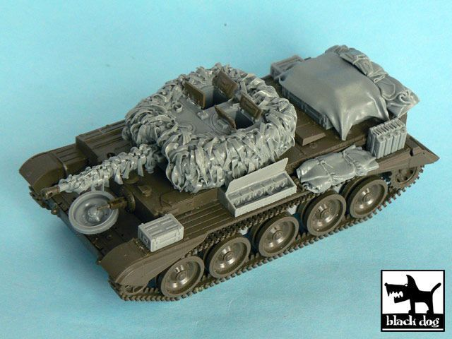 T48047 1/48 Cromwell Hessian tape camo net Blackdog
