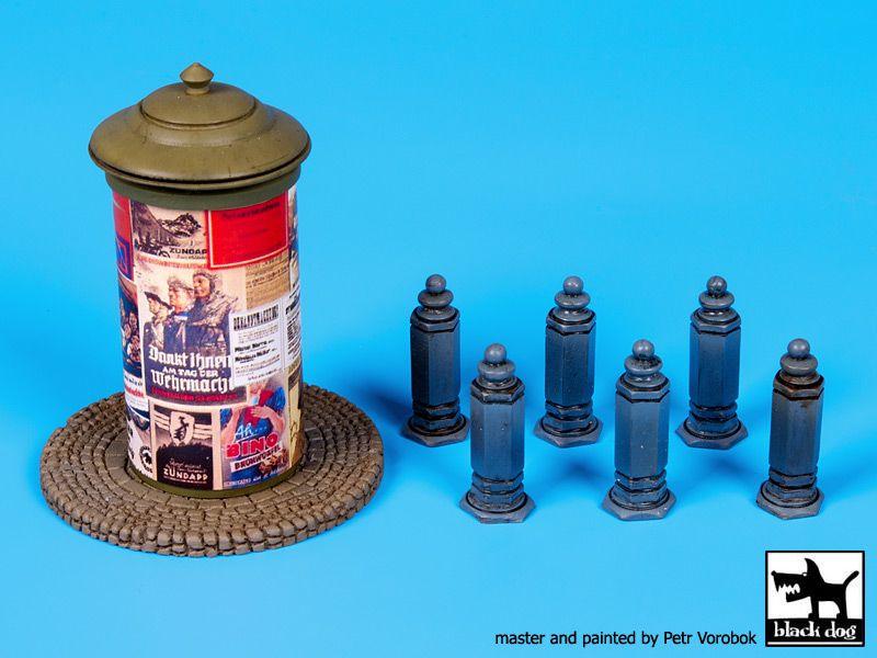 T48062 1/48 Poster pillar Germany-Italy Blackdog