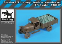 T48067 1/48 Russian 1.5 ton cargo truck accessories set