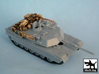T72003 1/72 M1A1 ABRAMS Iraq War Blackdog