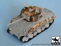 T72008 1/72 M4A3 sandbags Blackdog
