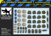 T72009 1/72 US modern equipment 1 Blackdog