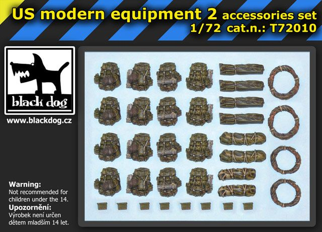 T72010 1/72 US modern equipment 2 Blackdog