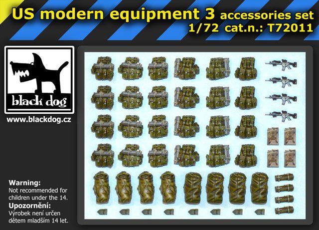 T72011 1/72 US modern equipment 3 Blackdog