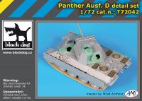 T72042 1/72 Panther Ausf.D Blackdog